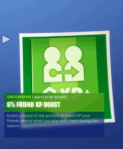 Tier 88 5% friend XP boost