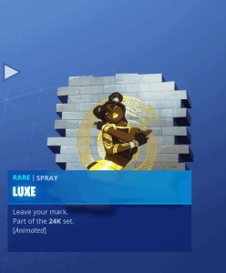 Tier 90 Luxe spray