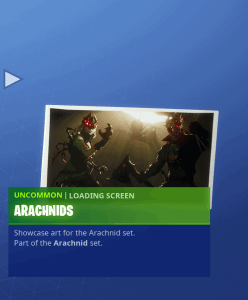 Tier 94 Arachnids loading screen