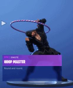 Tier 95 Hoop Master emote