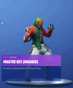 Tier 99 Master Key (Masked) skin