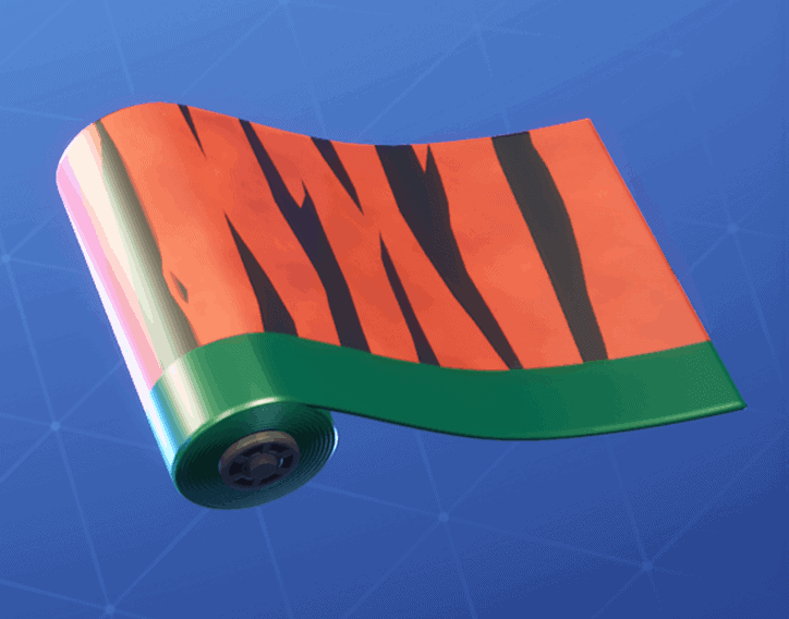 Tiger Stripes weapon wrap Fortnite season 8