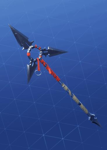 Tri-Star pickaxe Fortnite season 8