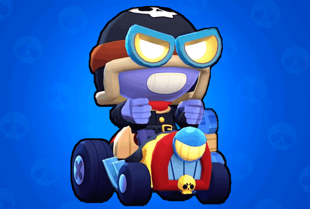 Roadrage Carl skin Brawl Stars