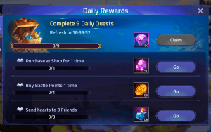 Buy Battle Points Quest – Mobile Legends: Adventure