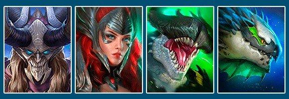 Raid Shadow Legends best overall team Prince Kymar Arbiter Fu-Shan Dracomorph