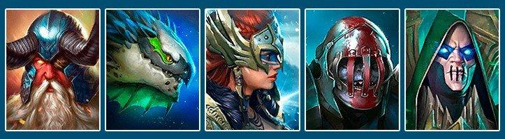 Raid Shadow Legends best team for clan boss Altan Dracomorph Valkyrie Skullcrusher Bad-El-Kazar