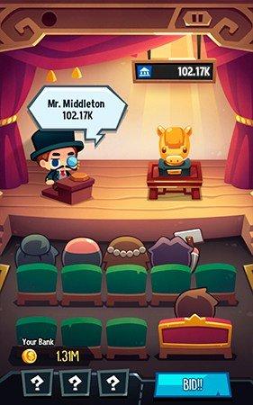 Art Inc auction screenshot