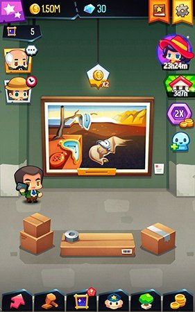 Art Inc mobile game gameplay screenshot