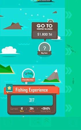 Hooked Inc fishing experience bonus
