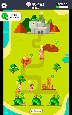 Idle Civilization mobile game gameplay screenshot