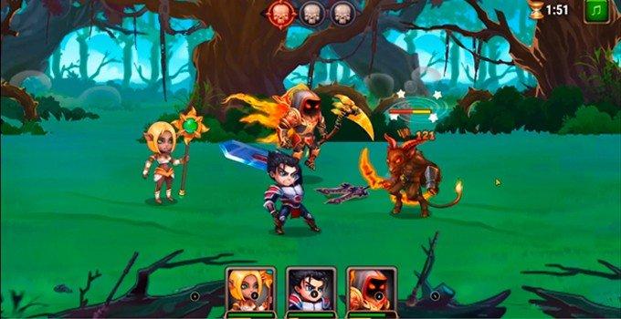 Playing Hero Wars on PC