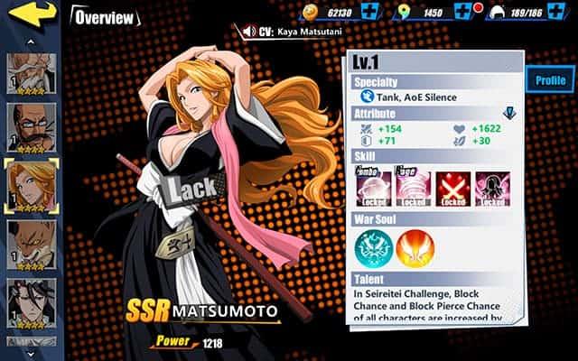 Bleach Immortal Soul Matsumoto Character