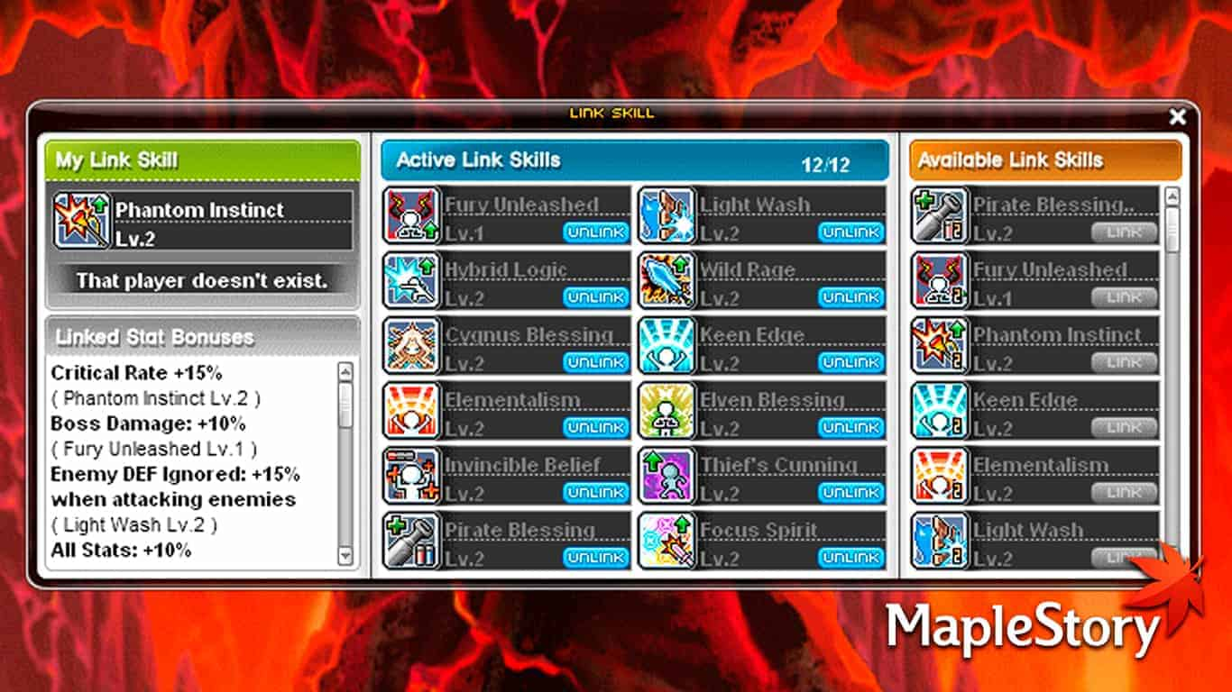 Maplestory – Best Link Skills Guide & All Link Skills List