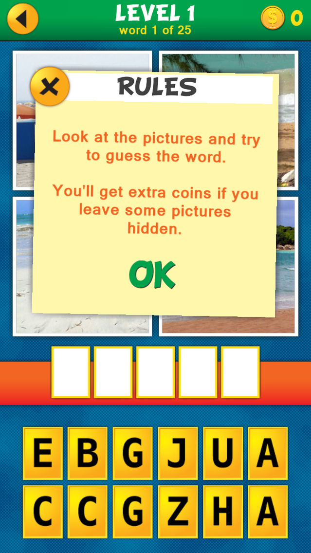 4 Pics 1 Word Puzzle: What's That Word? Answers All Levels