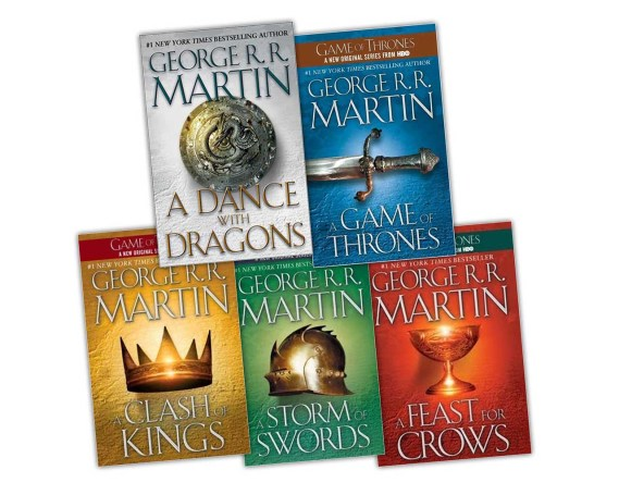 Game of thrones libros