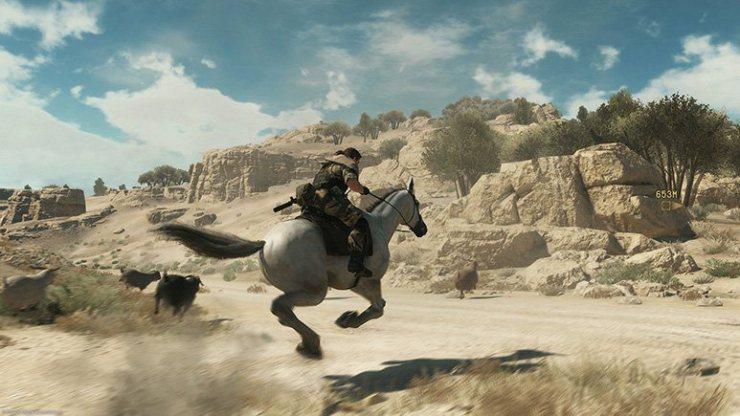 Metal Gear Solid V-Caballo