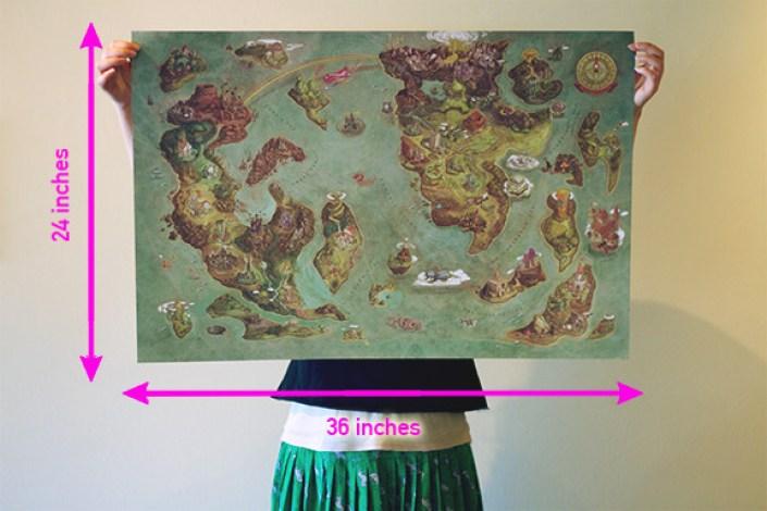 100-lugares-de-distintos-videojuegos-en-un-solo-mapa-videogames-world-map-edison-yan-ilustracion-afiche-2