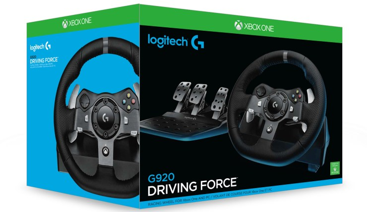 Driving Force Racing Wheel G920 for Xbox One SAMR 15 - 403_3D