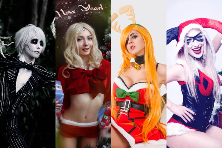 Portada Cosplay Navidad 2015