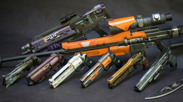 Destiny Cosplayer Eric Newgard Weapons
