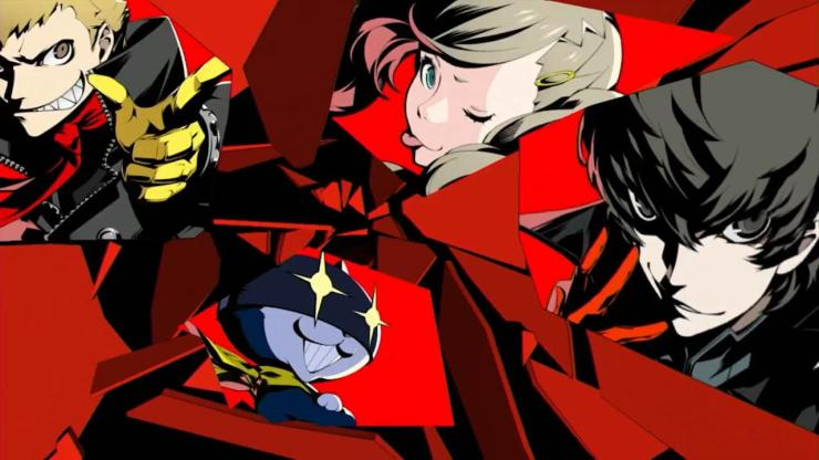 Persona 5 - All Out Attack