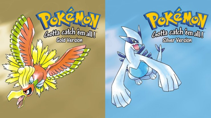Resultado de imagen para gold and silver pokemon
