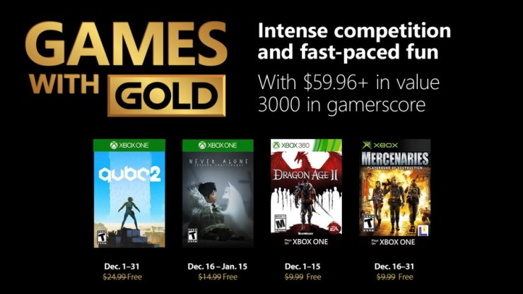 Games With Gold - Diciembre