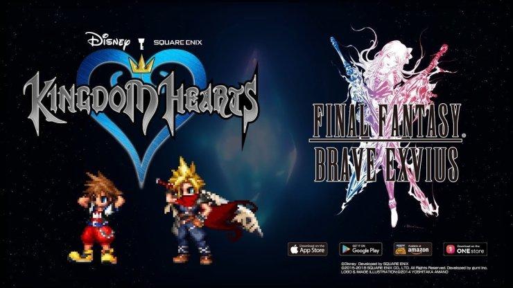 Kingdom Hearts - Final Fantasy Brave Exvius