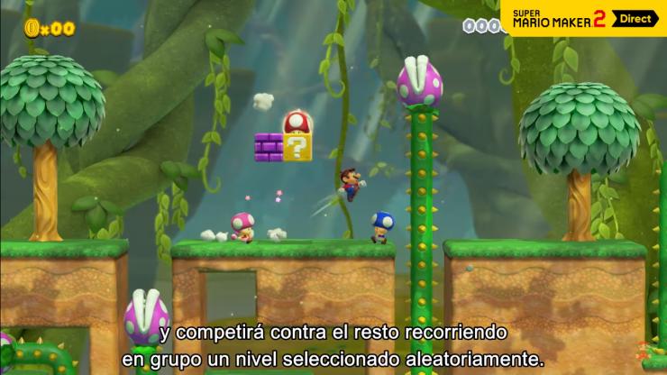 Super Mario Maker 2 - Nintendo Direct