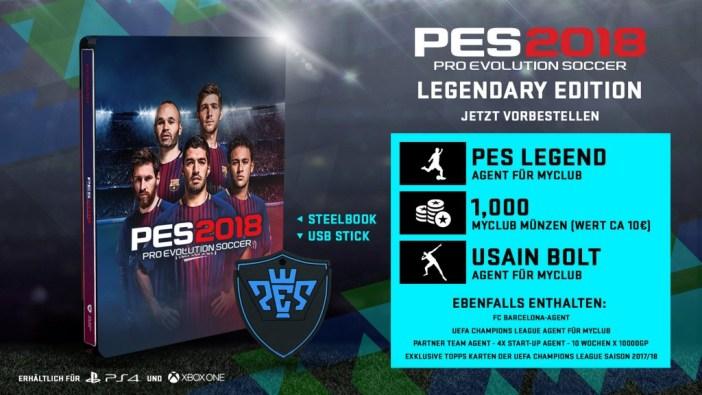 PES 2018 Legendary Edition