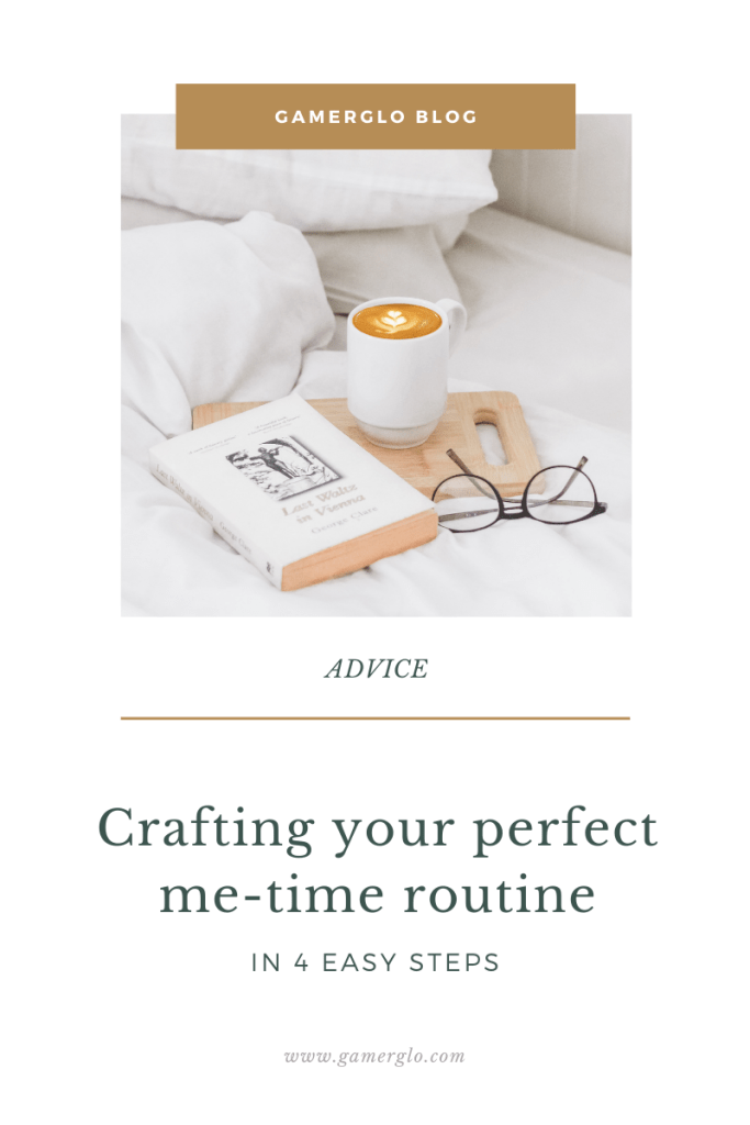 Blog header: creating your perfect me-time routine