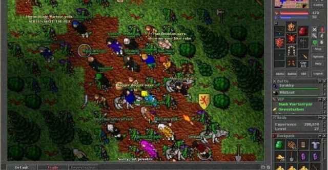 Tibia Game runescape-like games
