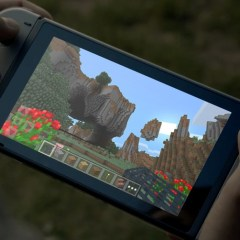 Early Gameplay Footage of Minecraft on Nintendo Switch Surfaces