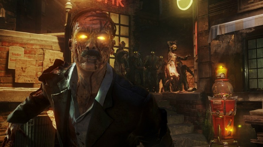 Call of Duty Black Ops 3, Black Ops 3: Zombies Chronicles, Zombies remastered map, Black Ops III