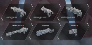 Apex Legends guns tier list