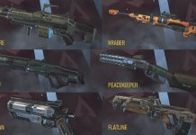 Apex s4 weapon DPS graph