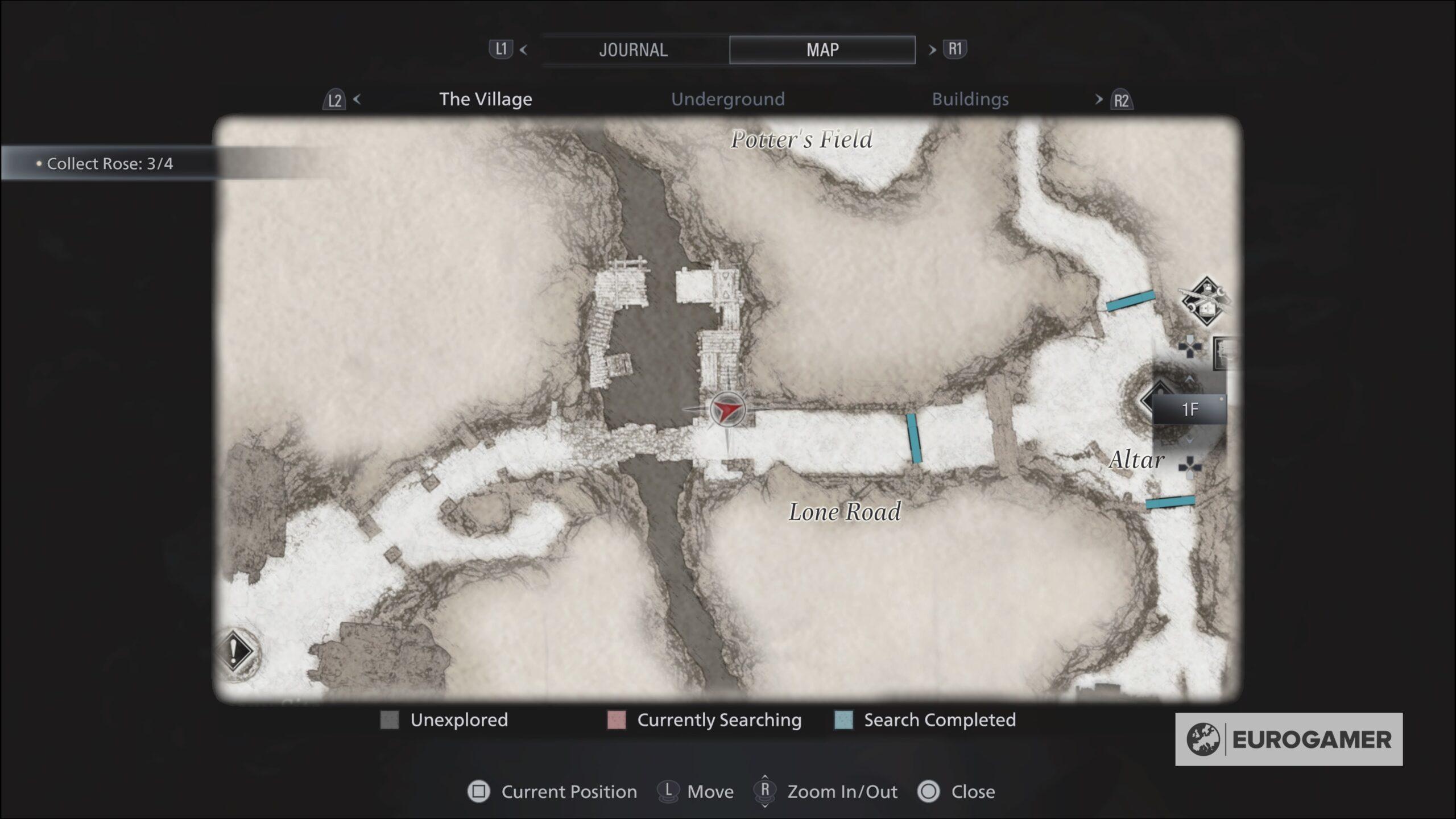 Resident Evil Goat Locations