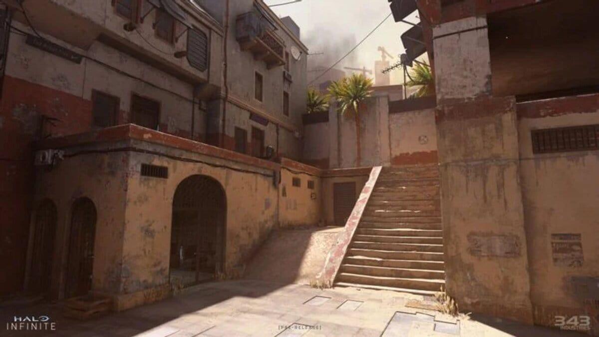 Halo Infinite Multiplayer screenshot Bazaar