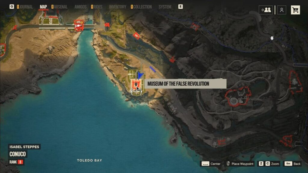 Location of the gun in far cry 6