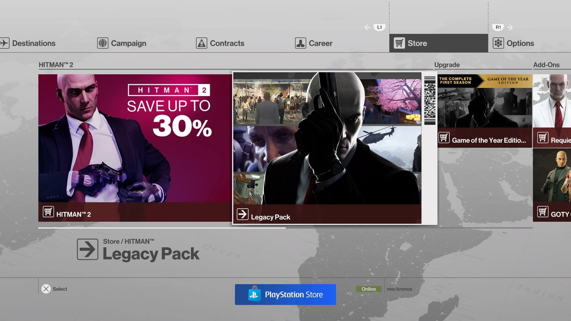 Psa Ps4 Players In Asia Can Now Redeem The Hitman Legacy Pack For