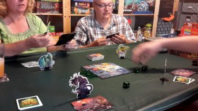 What was played:King of Tokyo Who played it: Rays Why: It seemed to fit the theme of blowing stuff up for the holiday. +1 rolls: Apparently, we hadn't played this game with the Rays in a long time. They caught on to the new rule set (of the expansion) very quickly.