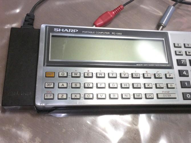 SHARP PC-1350+CE-124