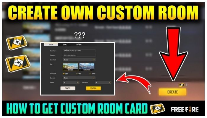 How To Join Custom In Free Fire