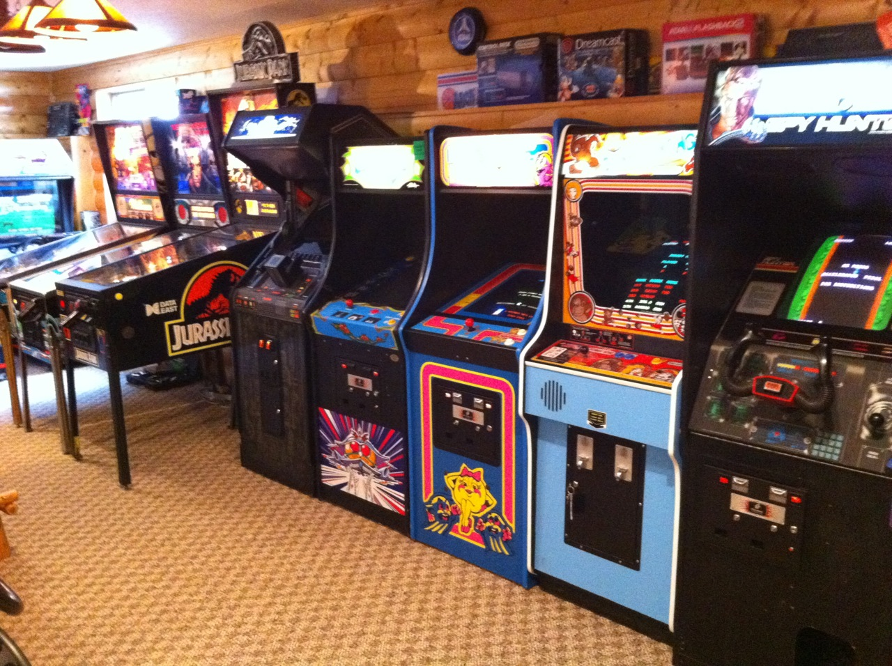 There are some surprising ways to accomplish building on to your home. Gameroom Showcase: Holcomb's Basement Arcade - Gameroom ...