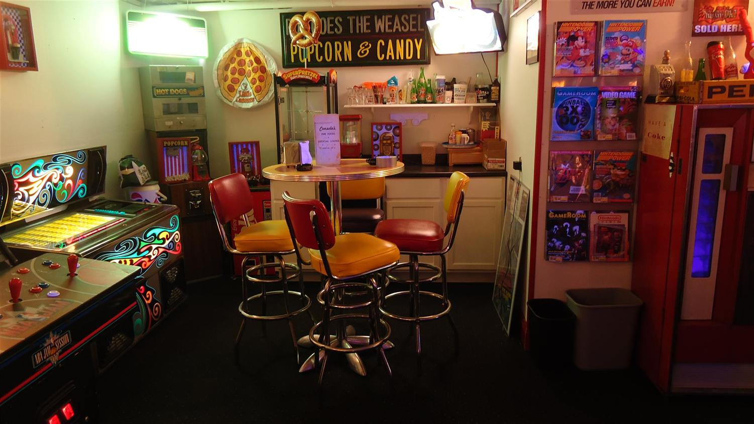 It's been more than two decades since video game arcades were a thing, but you can still find your favorite arcade games on the mac! Brian's Basement Arcade Bliss - A Gameroom Showcase