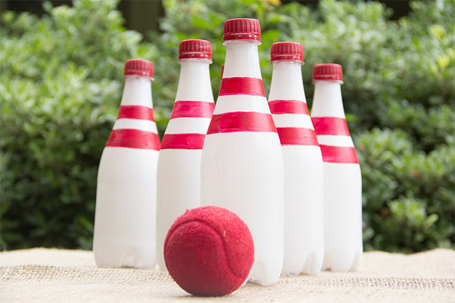 Recycled Bottle Bowling