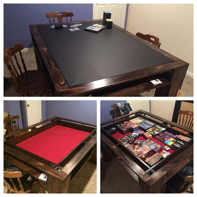 Build Your Own Coffee Table With Storage: Ping Pong, Air Hockey, Pool, & More