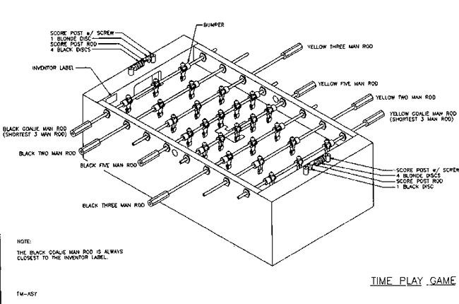 Foosball Table Plans