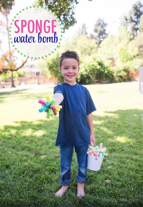 Sponge Water Bomb